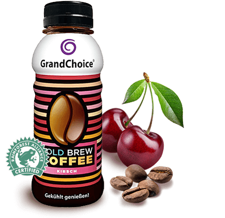 [Translate to Englisch:] grandchoice cold brew coffee - Kirsche