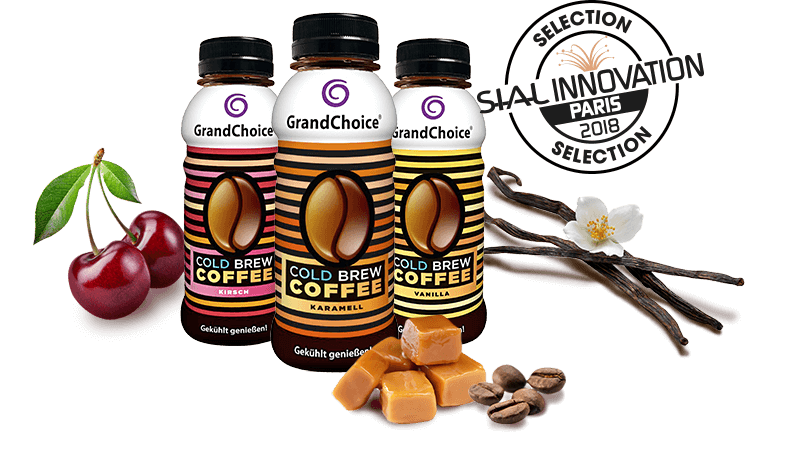 grandchoice cold brew coffee - Range